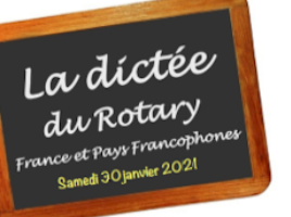La dictée du Rotary